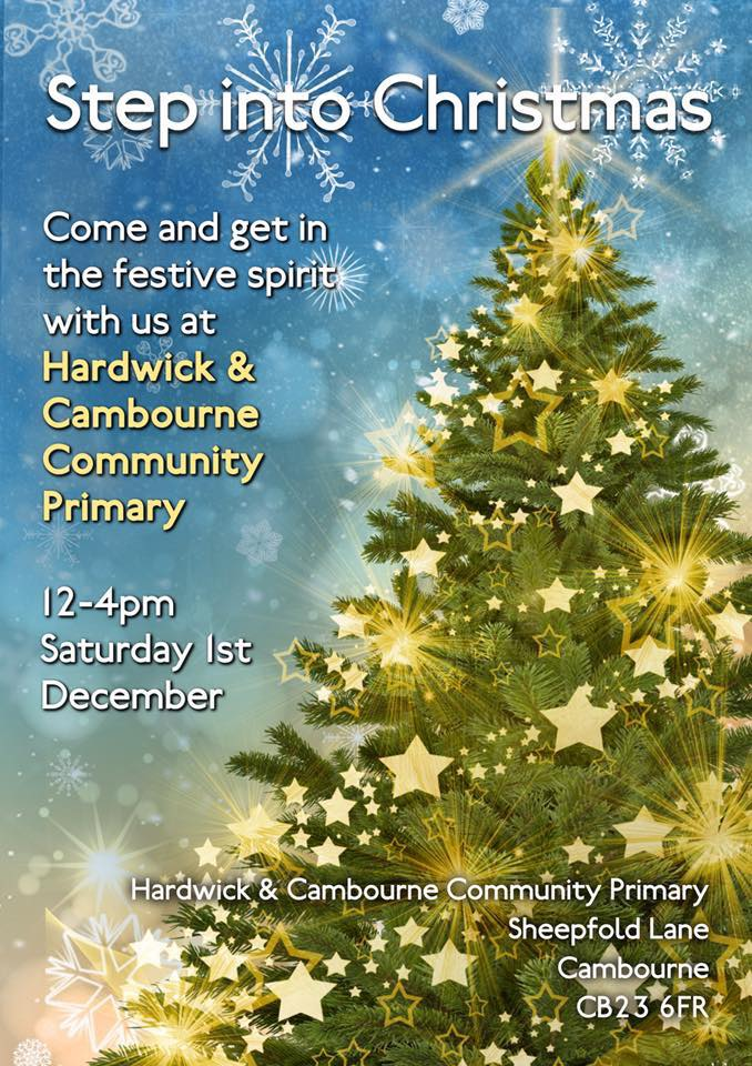 Step Into Christmas.Step Into Christmas Cambourne Information